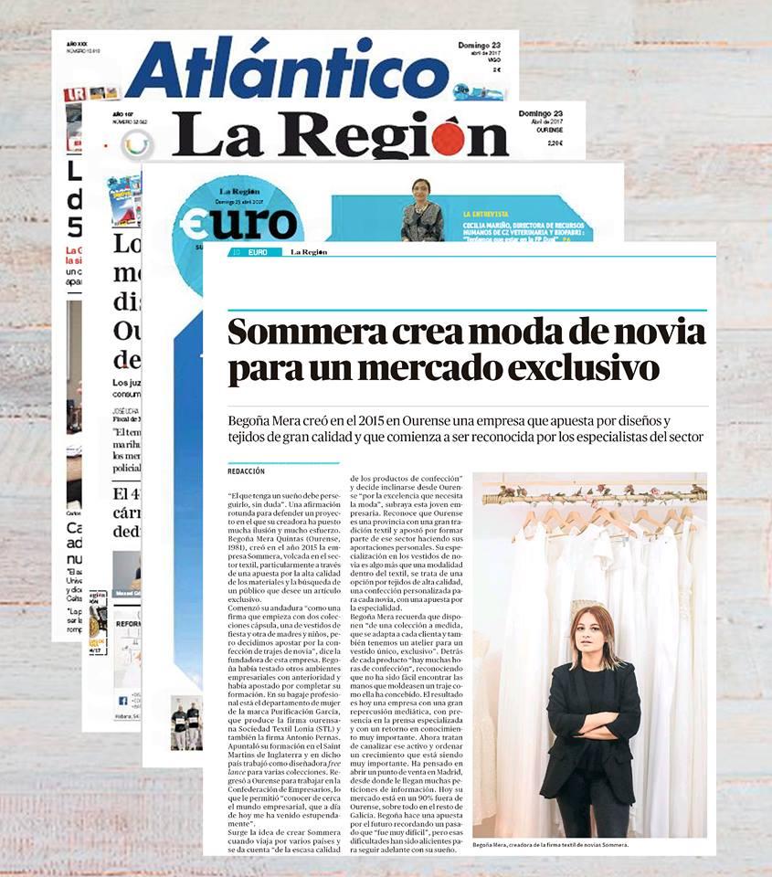 Euro_ la Region_ Sommera _ Begoña Mera _Novias_ Ourense