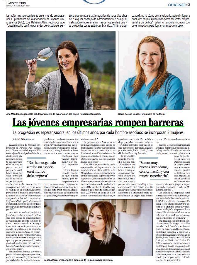 Sommera_Begoña Mera _FAro de Vigo_Emprendedoras_novias_Ourense